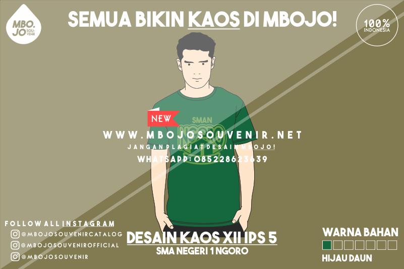 Desain Kaos Kelas XII IPS 5