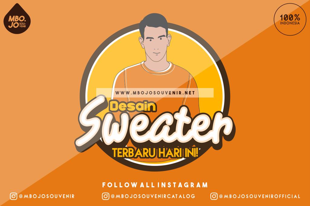 Desain Sweater Keren Terbaru