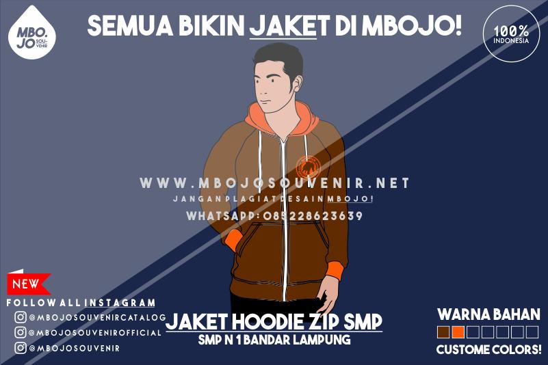 Desain Jaket Kelas SMP Negeri 1 Bandar Lampung