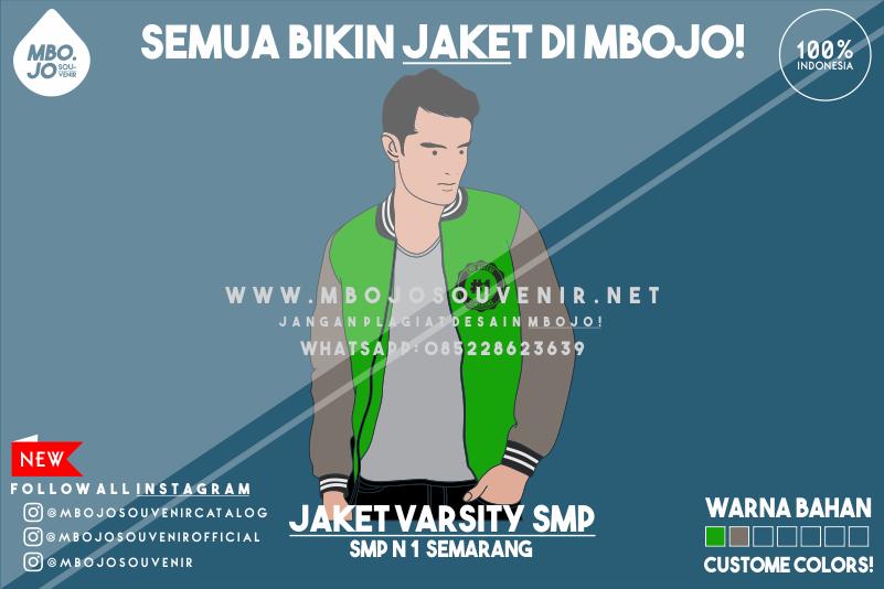 Desain Jaket Kelas SMP Negeri 1 Semarang