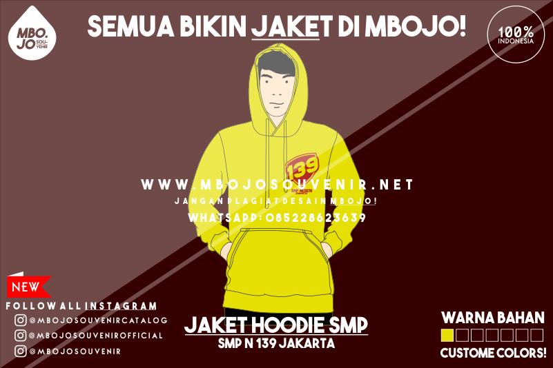 Desain Jaket Kelas SMP Negeri 139 Jakarta