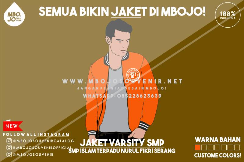 Desain Jaket Kelas SMP ISLAM Terpadu Nurul Fikri Serang Banten