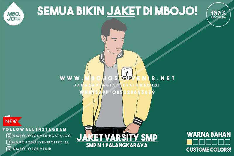 Desain Jaket Kelas SMP Negeri 2 Palangkaraya