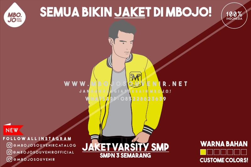 Desain Jaket Kelas SMP Negeri 3 Semarang