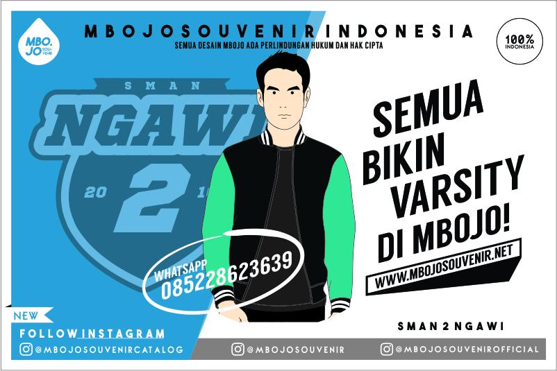 Desain Jaket Varsity SMAN 2 Ngawi
