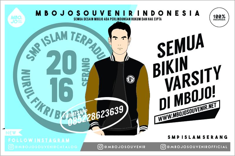 Desain Jaket Varsity SMP Islam Terpadu Serang Banten